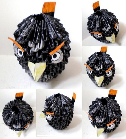 [3D Origami]::Angry Bird Tutorial::