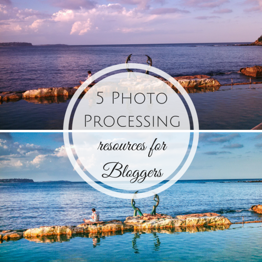 5 photo processing resources
