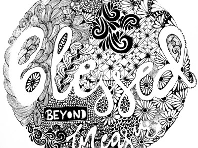 zentangle inspired artwork tutorial