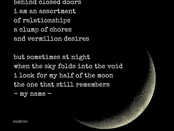 behind closed doors short poem on women
