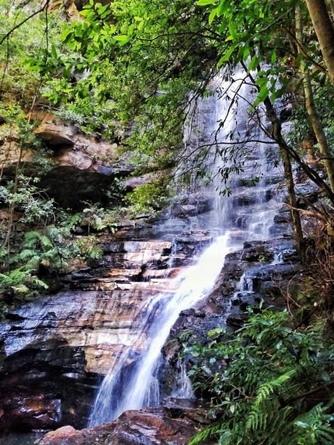 empress falls blue mountains national pass  australia
