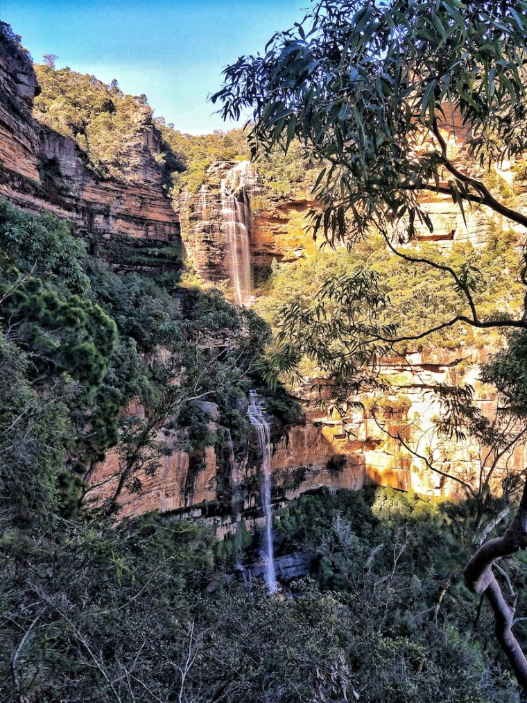 blue mountains national pass wentworth falls