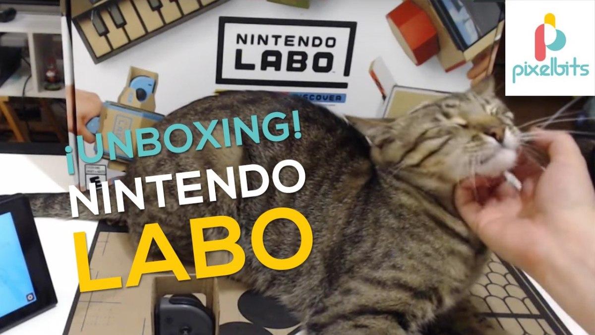 Unboxing de Nintendo Labo
