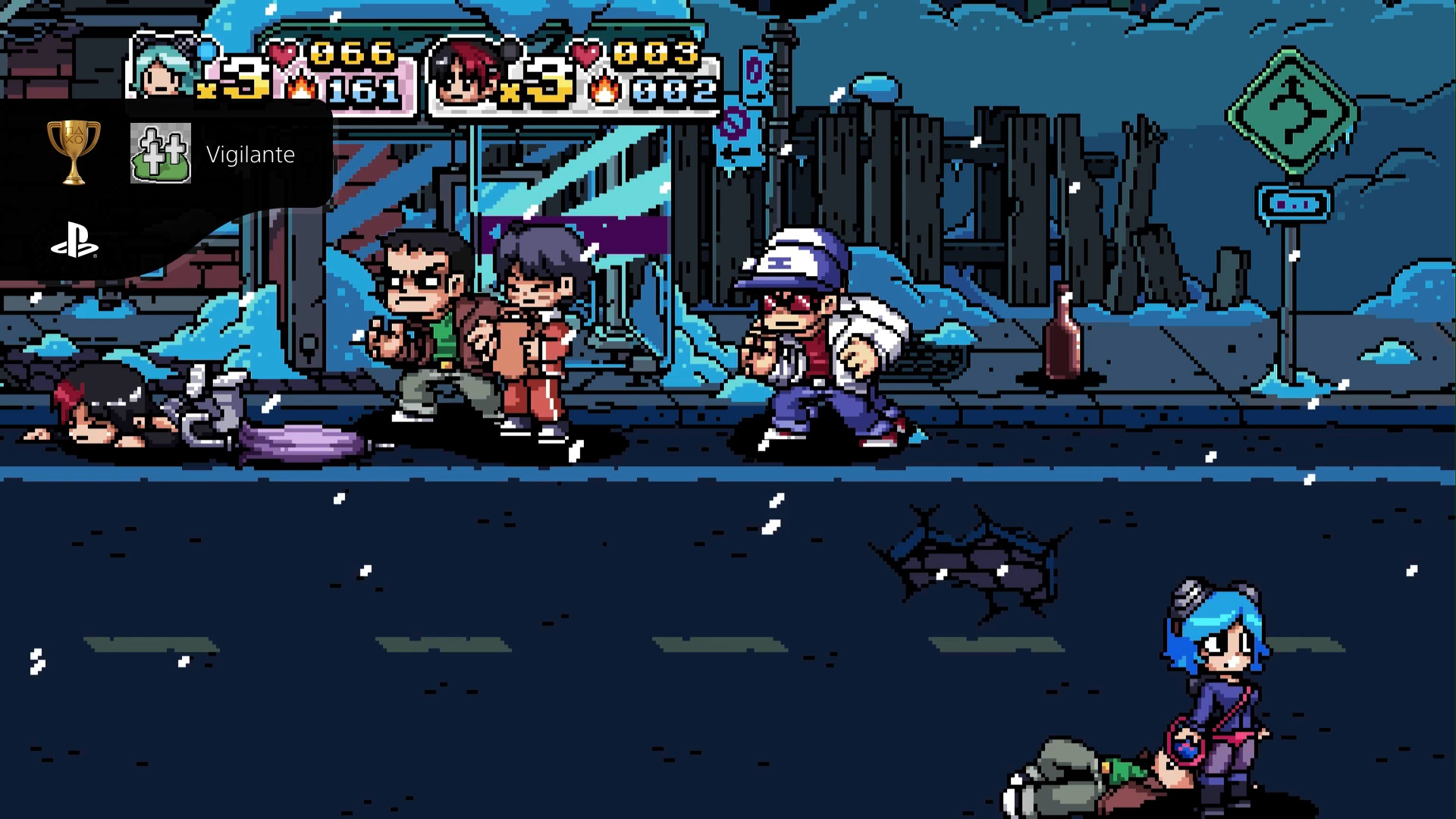 Scott Pilgrim VS The World game