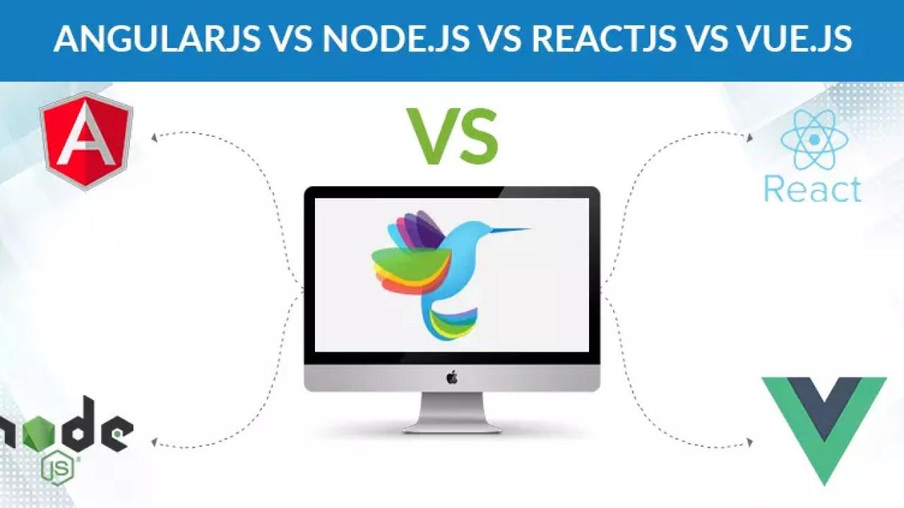 AngularJS vs ReactJS vs Vue js: Which is Best for Web Development?