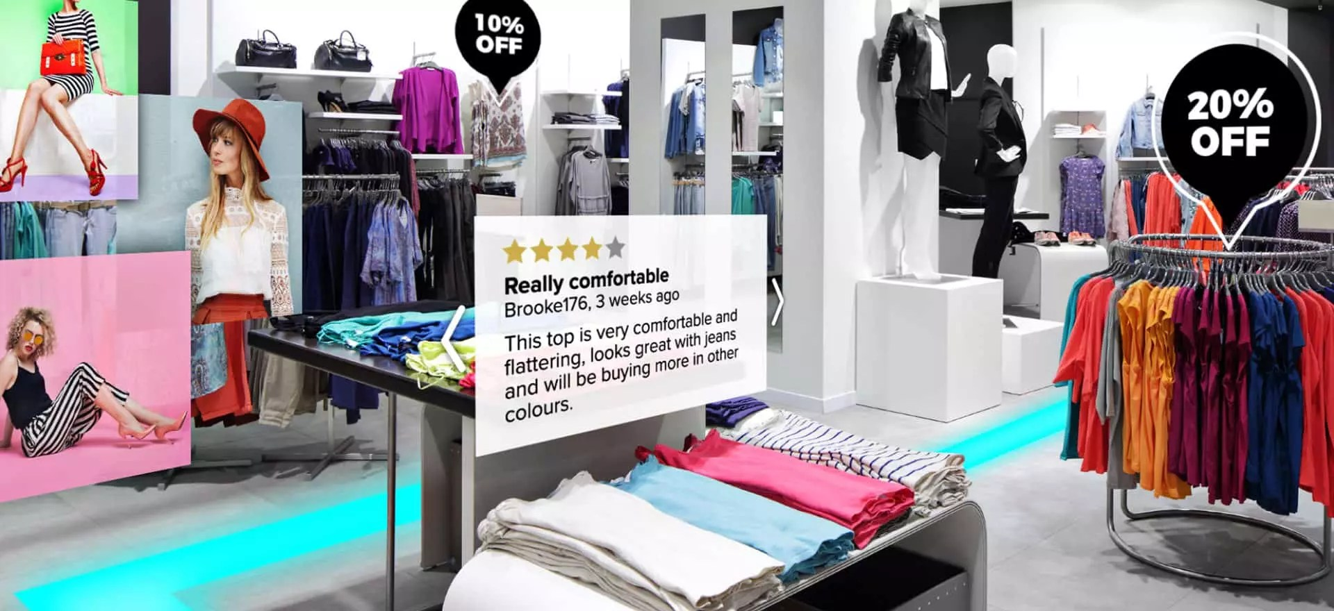 Role of AR in Physical Retail Space