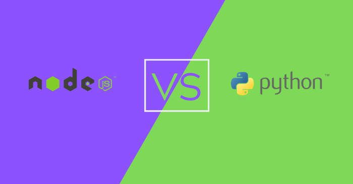 Node.js VS Python: Which is Better?