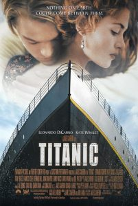 the titanic poster