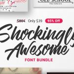 Shockingly-Awesome-Font-Bundle