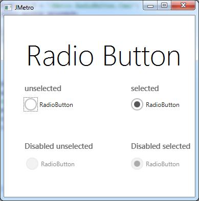 RadioButton(LightTheme)