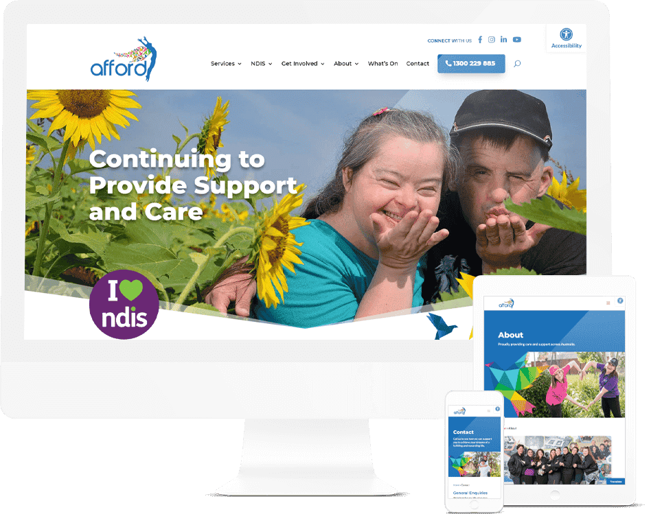 Not-for-profit Website Design