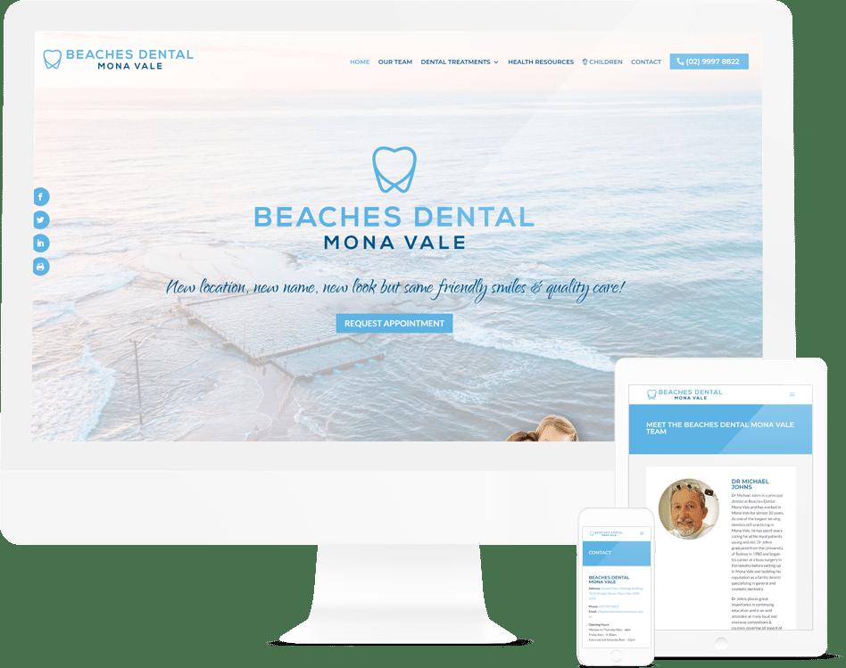 Sydney Web Design Agency Client