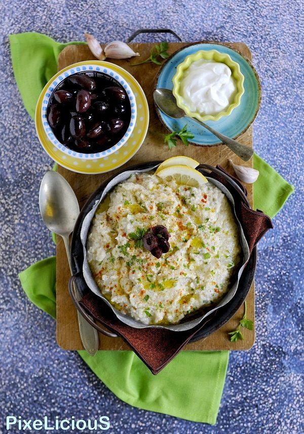 Melitzanosalata, Salsa di Melanzane Arrostite Greca