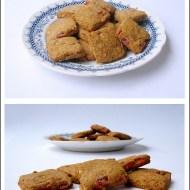 Biscotti di Farina di Riso con Lamponi e Mandorle