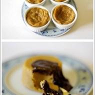 Budino di Biscotti con Salsa al Cioccolato Fondente