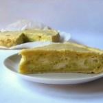 Torta Salata con Cavolo Romanesco e Tomino
