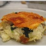 Lasagne con Spinaci, Porcini e Vellutata di Patate al Taleggio