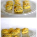 Bignè Salati con Crema di Olive Verdi