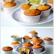 Muffins al Lime con Cuore di Cioccolato al Latte