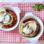 Caccavelle alla Parmigiana (con Melanzane, Pomodoro, Mozzarella e Ricotta Salata)