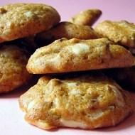 Cookies con Cioccolato Bianco e Pistacchi
