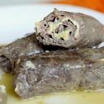 Involtini di Vitello con Mortadella, Camembert e Salvia