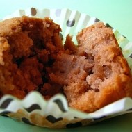 Muffins Ripieni di Confettura di Castagne