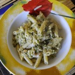 Pennette con Broccoli, Pancetta ed Epoisses de Bourgogne