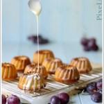 Ciambelline di Ricotta al Succo d'Uva con Ganache al Cioccolato Bianco (e un piccolo regalo)