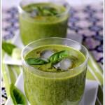 Gazpacho Verde (con Spinaci, Porro, Cetriolo e Avocado)