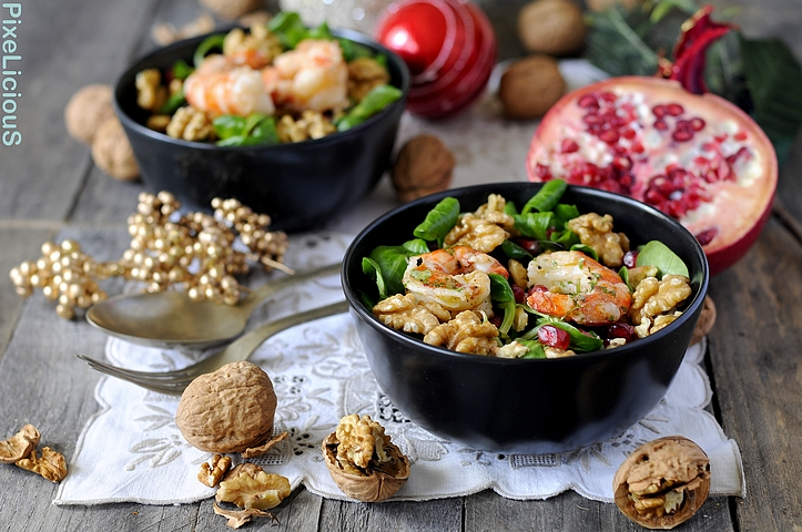 insalata valeriana melagrana gamberi noci 1 72dpi