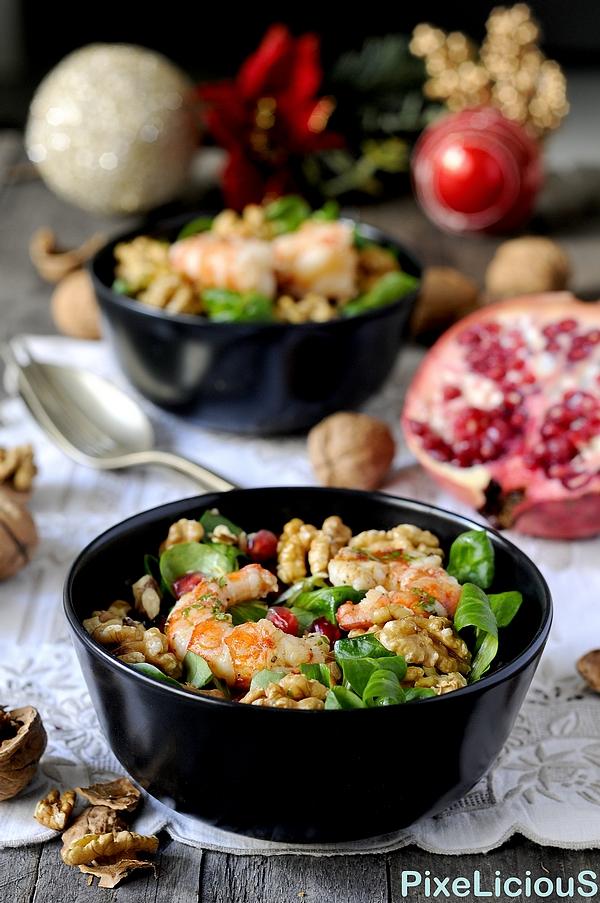 insalata valeriana melagrana gamberi noci 4 72dpi