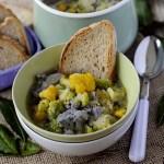 Zuppa di Cavolfiori Colorati
