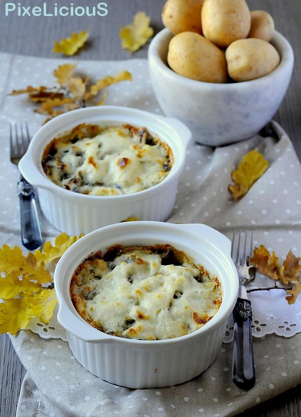 tortini patate pioppini gorgonzola 2 72dpi