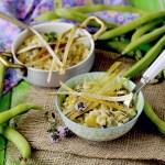 Orzotto di Primavera con Asparagi, Porri e Fave