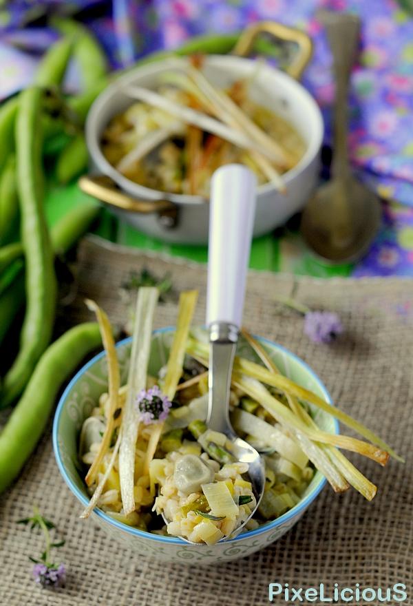 orzotto asparagi porri e fave 4 72dpi