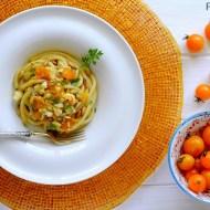 Pici alla Gallinella di Mare con Pomodorini Ciliegini e Pinoli