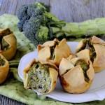 Soffioni Abruzzesi Salati con Ricotta e Broccoletti