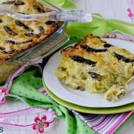 Lasagne con Asparagi, Porri e Formaggio di Capra