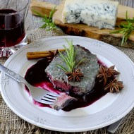 Filetto di Manzo al Gorgonzola con Salsa all'Amarone