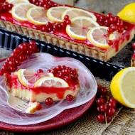 Tarte con Crema al Limone e Composta di Ribes