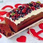 Red Velvet Plumcake per San Valentino