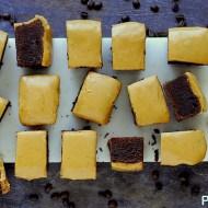 Brownies al Caffè con Ganache al Cioccolato Bianco Caramellato