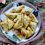 Fagottini Ripieni di Zucca, Salsiccia e Rosmarino