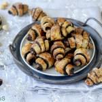 Rugelach Ebraici con Nocciole e Cacao