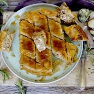 Melitzanopita Me Karydia – Torta Salata di Pasta Fillo con Melanzane e Noci