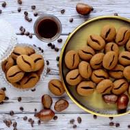 Biscotti Chicco di Caffè con Farina di Castagne