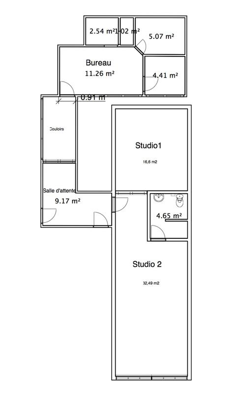 Pixelistes • transformer un appart en studio photo, des