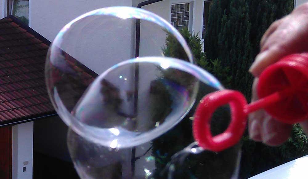 Seifenblasen Rezept So Macht Man Die Besten Seifenblasen