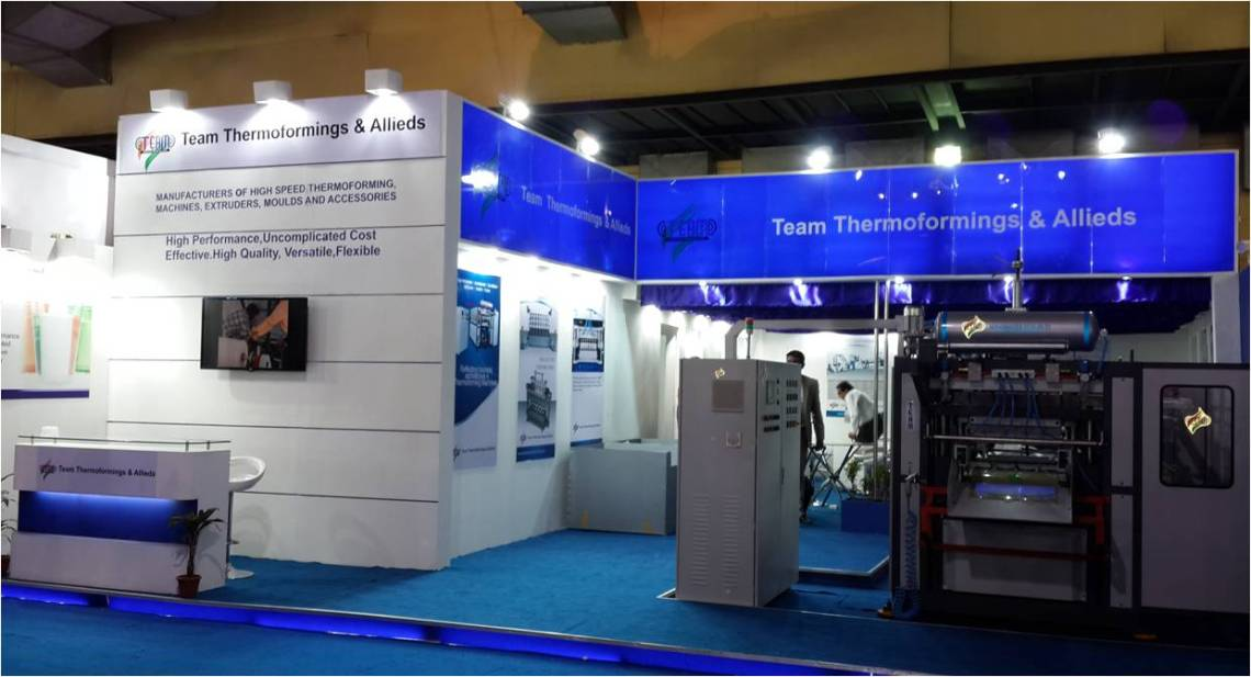 Exhibition Stall Fabricator Tooltech 2017